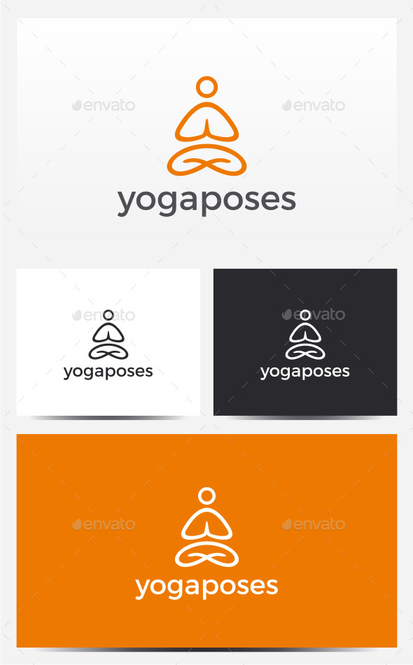 Yoga Logo - Humans Logo Templates