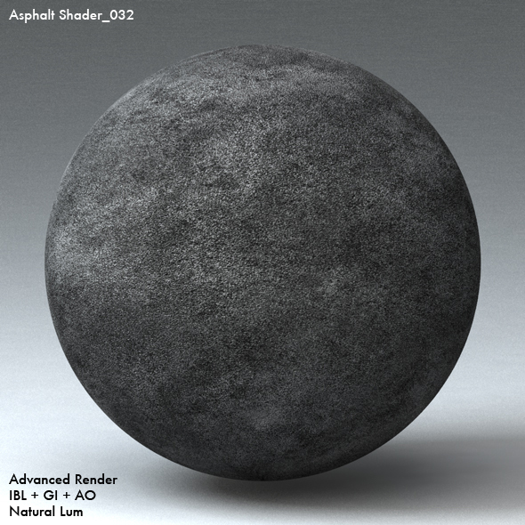 Asphalt Shader_032 - 3DOcean Item for Sale