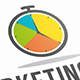 Marketing Time Logo Template - GraphicRiver Item for Sale