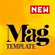 Magellan - Video News & Reviews Magazine HTML Template Nulled