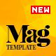 Magellan - Video News & Reviews Magazine HTML Template - ThemeForest Item for Sale