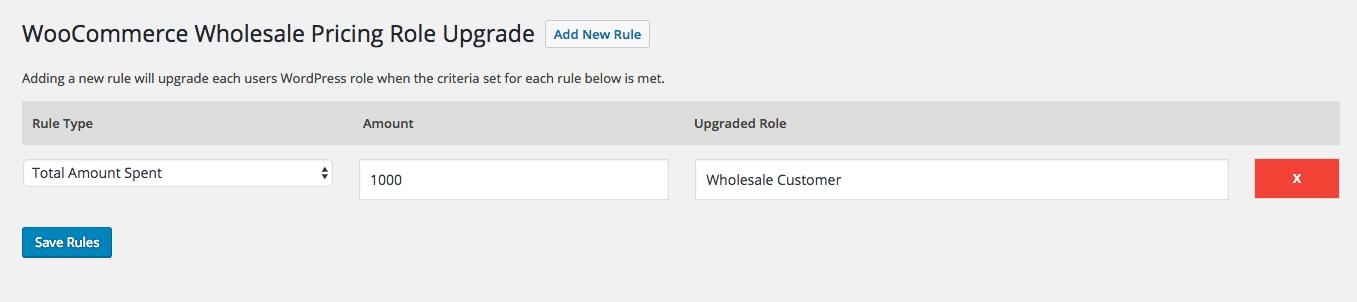 WooCommerce Role Upgrade
