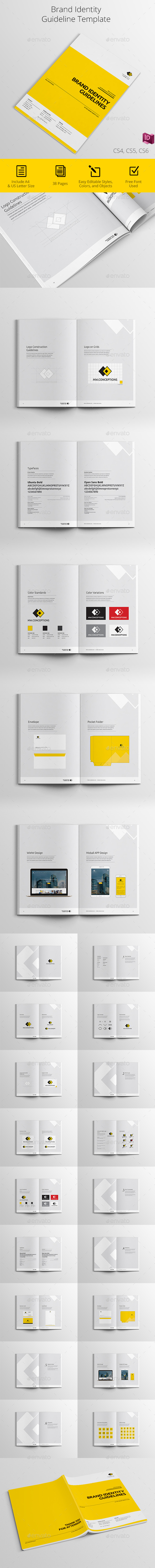 Brand Guidelines Graphics Designs Templates From Graphicriver