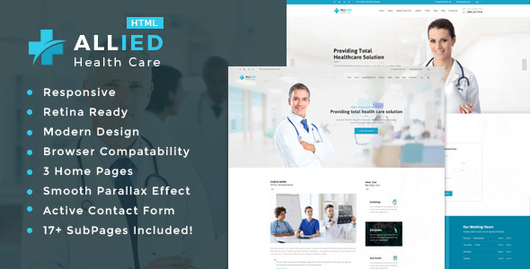 Allied Health Care – Health And Medical HTML Template