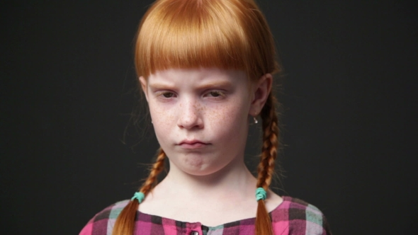 sad ginger girlzdyma4 | videohive