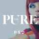 Pure - beauty/fashion blog and shop PSD theme  Nulled