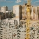 Construction Of Apartment Houses In The City - VideoHive Item for Sale