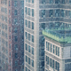 City Buildings In Blizzard - VideoHive Item for Sale