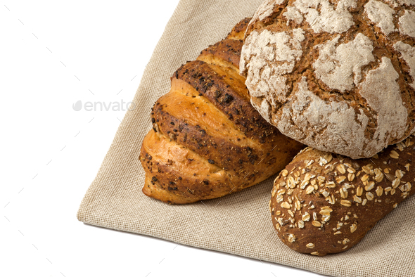 Variety of bread - Stock Photo - Images