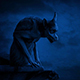 Gargoyle In Moonlight - VideoHive Item for Sale