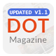 Dot Magazine PSD Templates Nulled