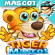 Tiger Mascot Character Set - GraphicRiver Item for Sale