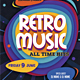 Retro Music / Retro Party Flyer - GraphicRiver Item for Sale