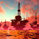 Oil Production in the Sea - VideoHive Item for Sale
