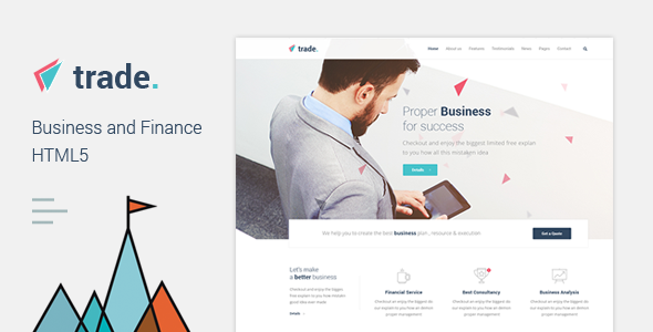 Trade – Business and Finance HTML5 Template