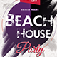 Beach House Party Flyer Template - GraphicRiver Item for Sale