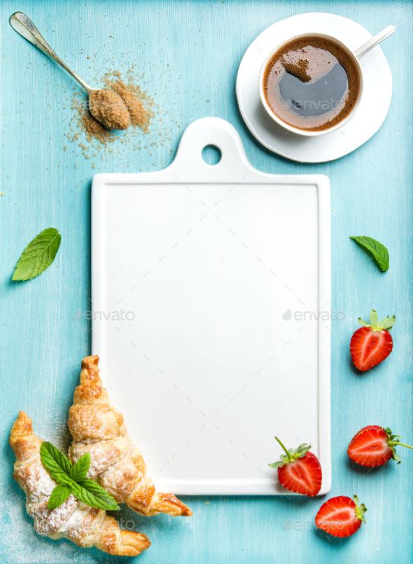 Breakfast or dessert set - Stock Photo - Images