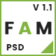 FAM - A Template For Creative Agency - ThemeForest Item for Sale