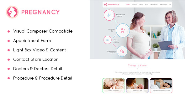 Pregnancy – Medical & Pregnancy WordPress Theme