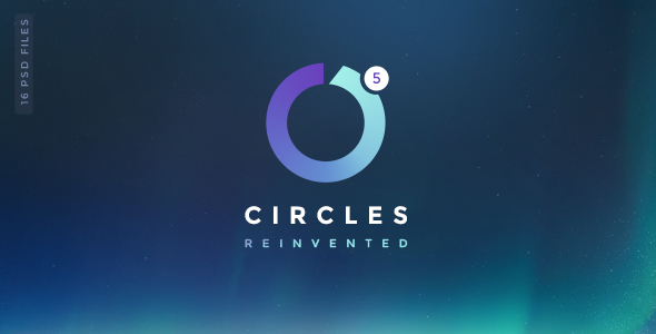 Circles 5 | Mutil-Concept Creative PSD Template