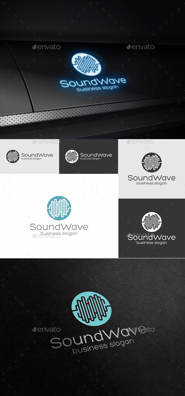 SoundWave - Symbols Logo Templates