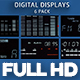 Digital Display Set 1 - VideoHive Item for Sale
