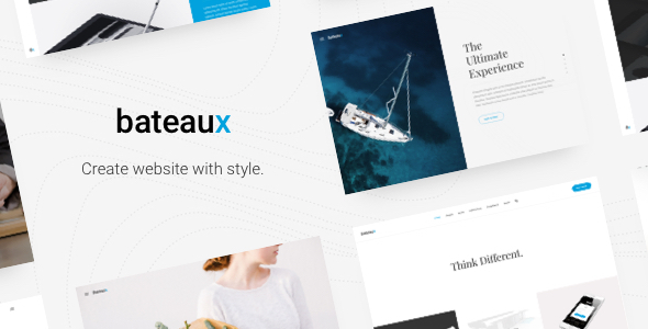 Bateaux – Creative Multi-Purpose WordPress Theme