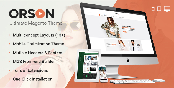 Orson – Ultimate Magento Theme
