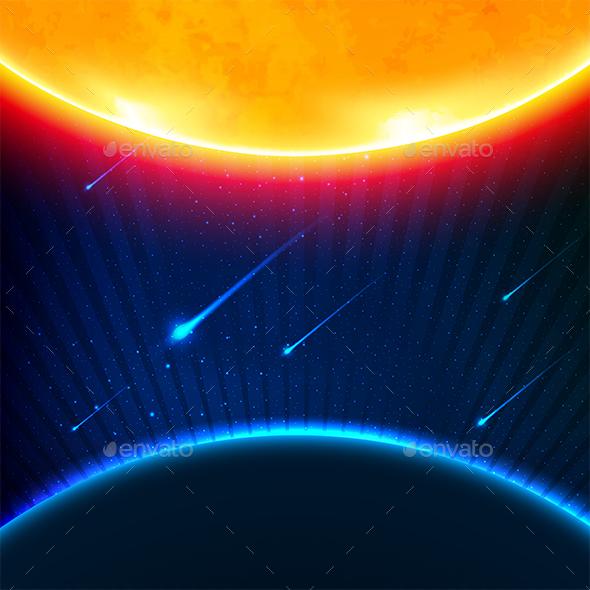Space Background - Miscellaneous Conceptual
