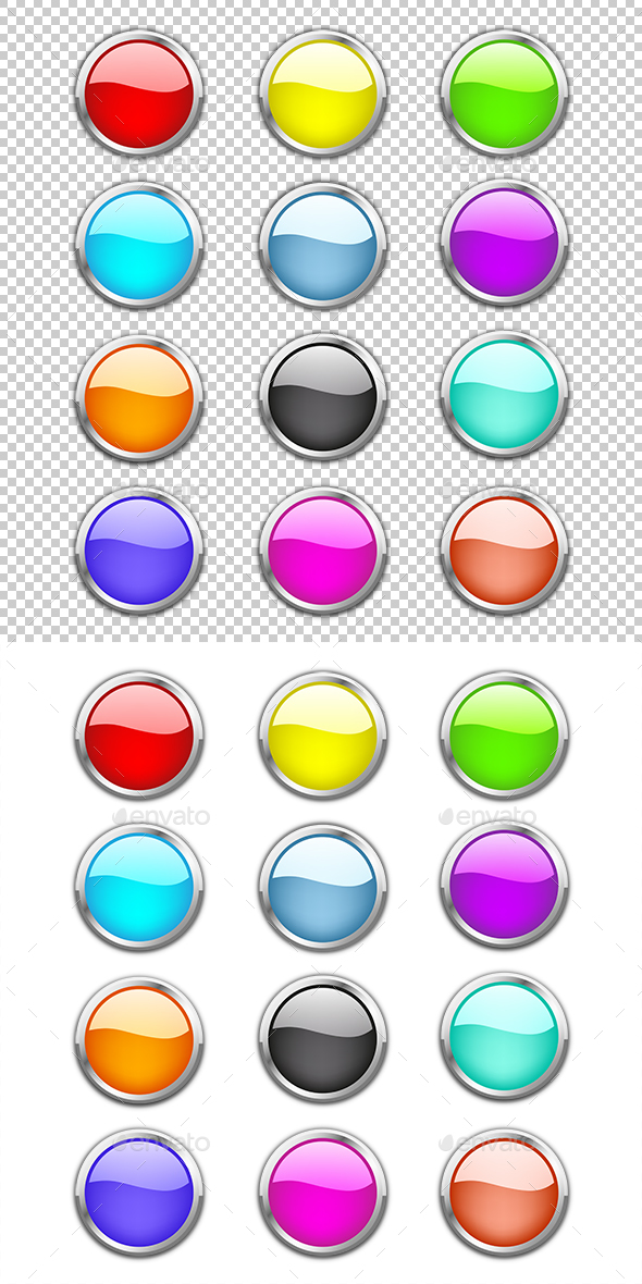 Glossy Buttons - Miscellaneous Conceptual