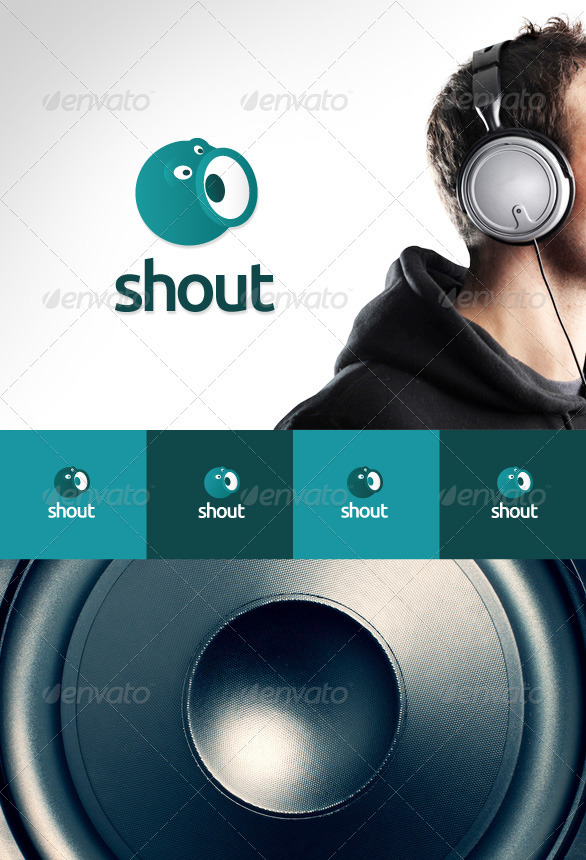 Shout Logo - Humans Logo Templates