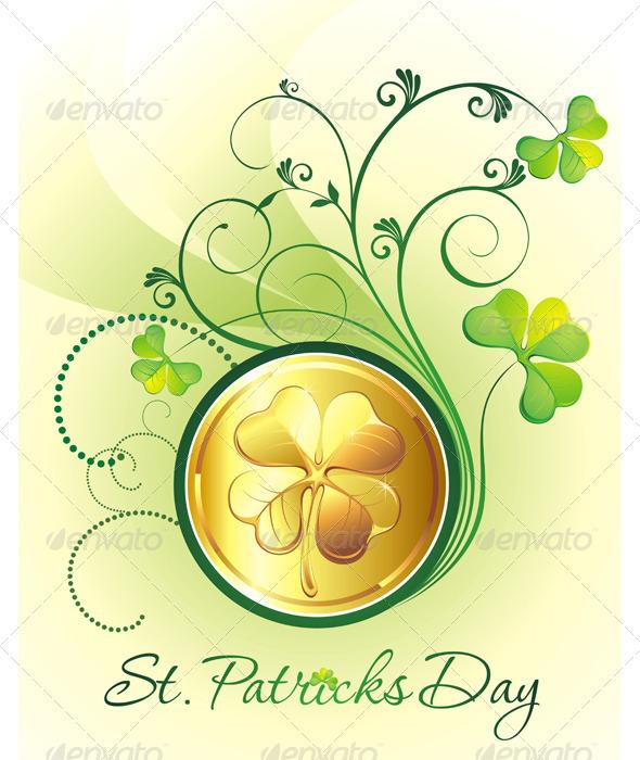 Golden coins - Backgrounds Decorative