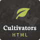 Cultivators - HTML Gardening Design Nulled