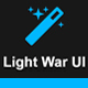 Light War UI – Bootstrap 3 Skin