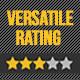 Versatile star rating plugin - CodeCanyon Item for Sale