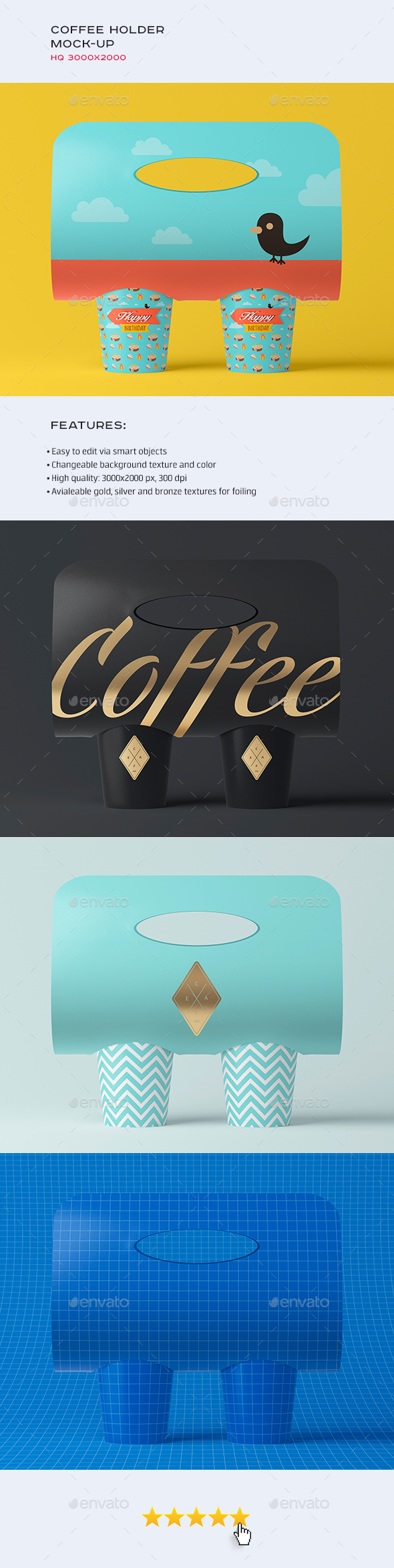 Coffee Holder / Packaging Mock-up