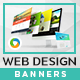 Web Design Banners - Images Included - GraphicRiver Item for Sale