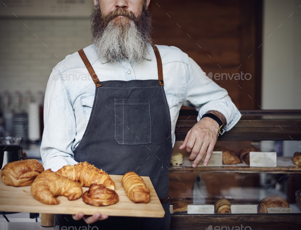 Croissant Carbohydrates Bake Cafe Nutrition Concept - Stock Photo - Images