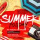 Summer Holiday Flyer V4 - GraphicRiver Item for Sale