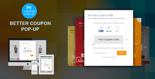 PrestaShop Module Like, Follow, Subscribe for get  Discount, Vouchers, Coupon, Promotion (Pop-up) - CodeCanyon Item for Sale