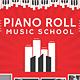 Music College & School Creative Print Set (3in1)