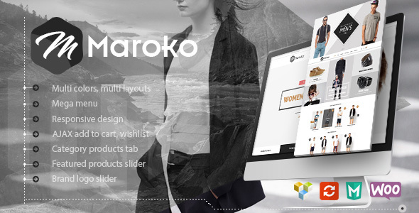 Maroko - Responsive WordPress Fashion Theme Free Download | Nulled