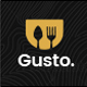 Gusto - Restaurant, Café, Bar, Seafood Restaurant PSD template - ThemeForest Item for Sale