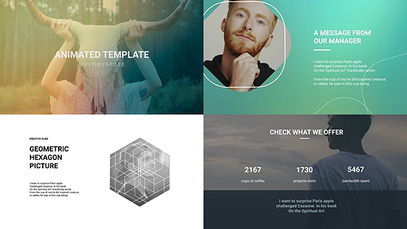 marketing agency - digital agency presentationclean-promo, Presentation templates