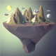 Low poly Landscape - 3DOcean Item for Sale