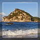 Waves And Corfu Island - VideoHive Item for Sale