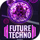 Future Techno Flyer Template - GraphicRiver Item for Sale