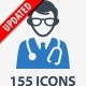 Medical & Health Care Icons - Blue Series