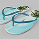 Flip Flops - 3DOcean Item for Sale