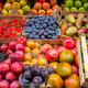 Fruits and vegetables in boxes for sale in Italian market - PhotoDune Item for Sale